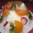 ふわふわカキ氷(フルーツ)